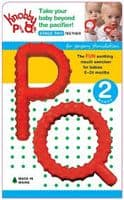 P & Q Red Knobby Teether Chews